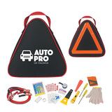 Auto Emergency Kits With Nylon Pouch  Imprinted with Logo (Q225511)