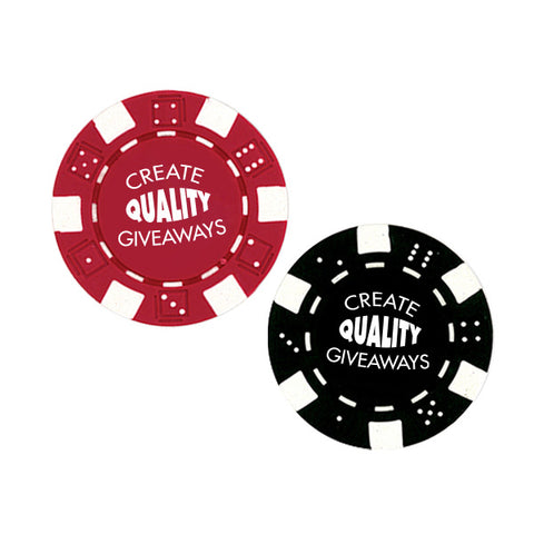 11.5 G Professional Clay Poker Chips w/ 4 Color Process (Q229511)