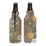 Zippered Bottle Coolies  with Logo (Q255811)