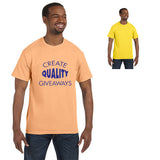 Imprinted Anvil Heavyweight T-Shirt (Q26437) -  - 1