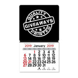 2020 Peel-N-Stick® Square Billboard Calendar  Imprinted with Logo (Q264711)