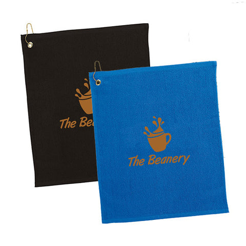 100% Cotton Golf Towel (colors) (Q271311)