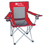 Mesh Folding Chair With Carrying Bag  Imprinted with Logo (Q305665)