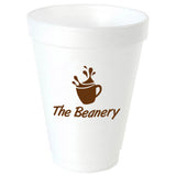Foam Cup (12  oz)  Imprinted with Logo (Q31494)