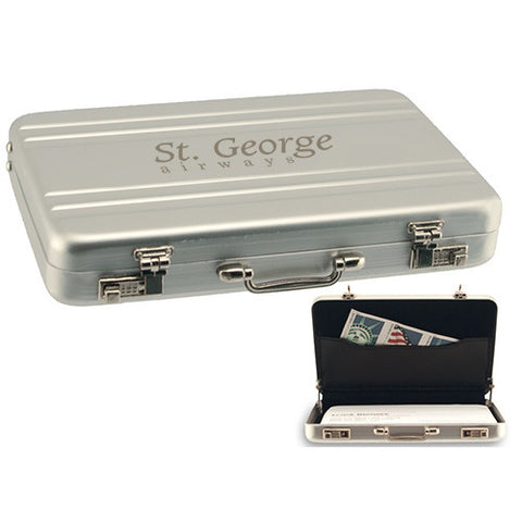 Custom The Bostonian Miniature Business Card Case (Q32343) -  - 1