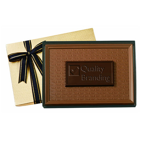 Personalized Two-Tone Chocolate Bar (2 lbs.) (Q32514) -  - 1