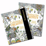 Coloring for Creativity Adult Coloring Books  Imprinted with Logo (Q331311)