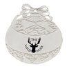 Promotional Silver Ball Shape Ornament (Q334235) -  - 1