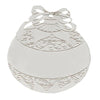 Promotional Silver Ball Shape Ornament (Q334235) -  - 2