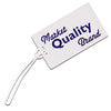 Logoed Recycled Kwik Seal® Luggage Tag (Q33484) -  - 1