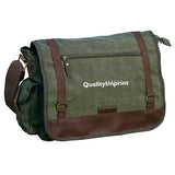 Imprinted Messenger Bag (Q335665) -  - 1