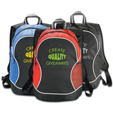 Logoed Boomerang Backpack (Q338265) -  - 1