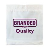 "Promotional Poly Draw Tape Handle Bags (16"" x 18"") (Q34584) -  - 1"