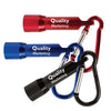 Imprinted Carabiner LED Flashlight w/ Gift Box (Q35255) -  - 1