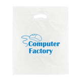 Personalized White Super Gloss Die Cut Bags (Q36584) -  - 1