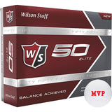 Wilson® 50 Elite Ionomer Golf Ball  Imprinted with Logo (Q371311)