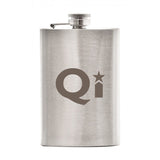 Custom Stainless Steel Flask (4 oz) (Q374255) -  - 1
