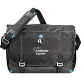 Imprinted Zoom® Checkpoint-Friendly Compu-Messenger Bag (Q375775) -  - 1