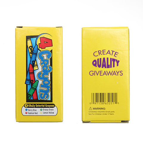 4 Pack Non-Toxic Crayons (Q382411)