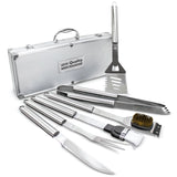 Deluxw BBQ Tool Set (6-piece)  with Logo (Q38571)