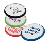 Plastic Grip Coasters  Imprinted with Logo (Q390411)