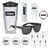 Deluxe Golf Tumbler Kit  Imprinted with Logo (Q398411)