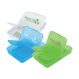 Slotted Pill Boxes (3.50 inch)  with Logo (Q405411)