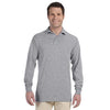 Promotional Jerzees 5.6 oz.  50/50 Long-Sleeve Jersey Polo with SpotShield™ (Q40755) -  - 4