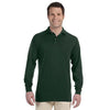 Promotional Jerzees 5.6 oz.  50/50 Long-Sleeve Jersey Polo with SpotShield™ (Q40755) -  - 5