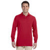 Promotional Jerzees 5.6 oz.  50/50 Long-Sleeve Jersey Polo with SpotShield™ (Q40755) -  - 6