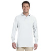 Promotional Jerzees 5.6 oz.  50/50 Long-Sleeve Jersey Polo with SpotShield™ (Q40755) -  - 7