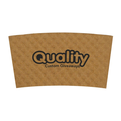 12/16/20/24 oz Beverage Wrap - Kraft (Q409611)