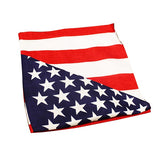 18 Inch American Flag Bandanas  Imprinted with Logo (Q410711)