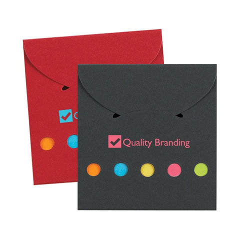 Sticky Notes And Flags In Pocket Case (Q42243)