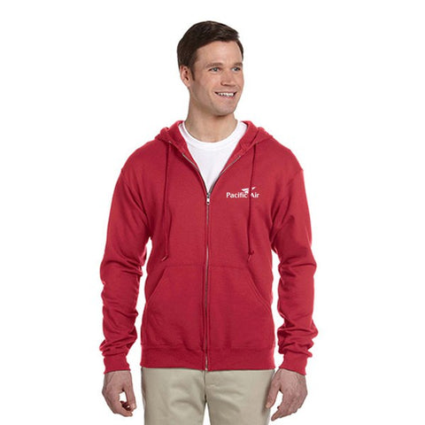 Jerzees 8 oz.  50/50 NuBlend® Fleece Full-Zip Hood (Q42266)