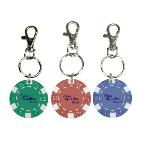 11.5 G Poker Chip Keyring (Q429511)