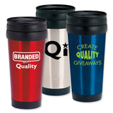 Stainless Steel Deal Tumbler - (16 oz.) (Q436311)
