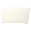 White Coffee Cup Sleeves (Q44450)