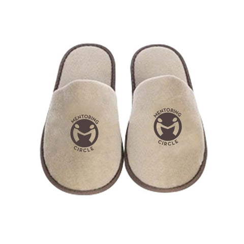 5cac93fc5244 Polyester Terry Cloth Disposable Slippers - Slippers with Logo - Q450711