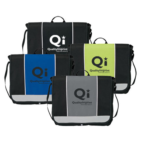 Messenger Bag with Hook & Loop Closure (Q464311)