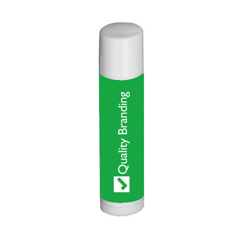 Custom Natural Lip Balm with Organic Ingredients in White Tube (Q48338) -  - 1