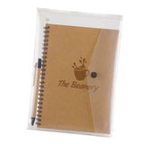 Custom Junior Notebook & Pen Set with Transparent Pouch (Q48443) -  - 1