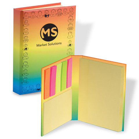 Logoed Mood Dude™ Sticky Book™ (Q51543) -  - 1