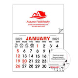 2020 Add Your Card Decal & Magnet Calendar Pads  Imprinted with Logo (Q521711)