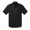 Custom Port Authority® Stain-Resistant Short Sleeve Twill Shirt (Q525265) -  - 2