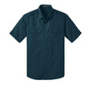 Custom Port Authority® Stain-Resistant Short Sleeve Twill Shirt (Q525265) -  - 7