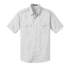 Custom Port Authority® Stain-Resistant Short Sleeve Twill Shirt (Q525265) -  - 5