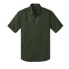 Custom Port Authority® Stain-Resistant Short Sleeve Twill Shirt (Q525265) -  - 6