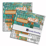 Fantastic Cities (A Coloring Book of Amazing Places Real and Imagined)  Imprinted with Logo (Q531311)