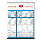 Span-A-Year Non-Laminated Calendars  Imprinted with Logo (Q531411)
